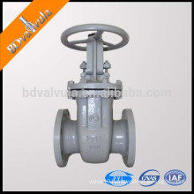 GOST carbon steel flanged gate valve
