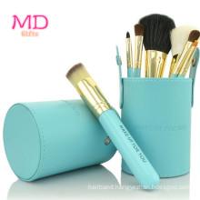 PRO 7PCS Bluetubular Powder Cosmetic Brush Set (TOOL-183)