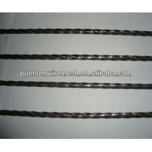 Deformierter Stahl / verstärkter verdrillter Stahl