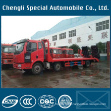 High Quality FAW 30ton Heavy Duty Low Bed Truck