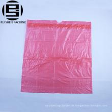HDPE Kunststoff billige Müllsäcke in Rolle rot