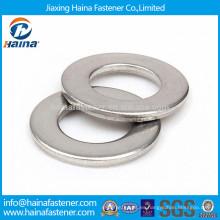 DIN125 Arandela plana de acero inoxidable GB97 304 arandela plana