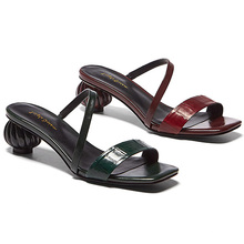 2020 New Arrival High quality Shoes Heels Sandal Open Toe Sandals Custom Fashion  Lady Shoes sandals for women