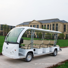 23 Plätze Sightseeing Elektroauto Touristenauto mit Tür