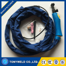 Good quality gas cooled welding tig torch WP-9 tig series