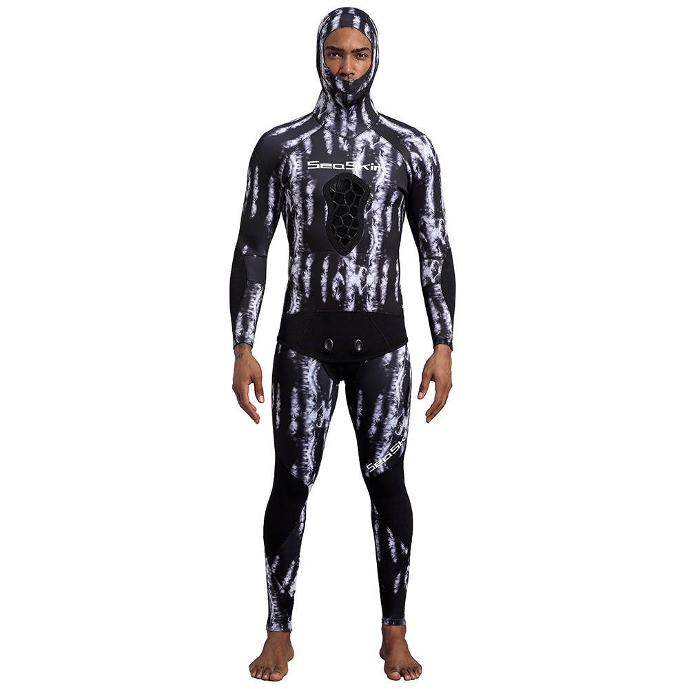 Seaskin Best 5mm Camo Spearfishing Wetsuit Sale