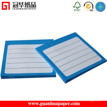 Good Quality Self Adhesive Lined Sticky Notes with Logo