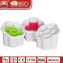 Dry your cutlery or bathroom items customized plastic cutlery holder