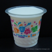 8oz Disposable Plastic Cups for Yoghurt