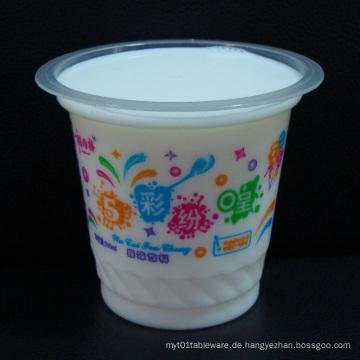 8oz Plastikbecher für kaltes Getränk