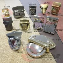 Metallschloss Zubehör für Handtasche Tasche Koffer Push Lock