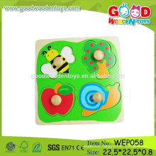 most popular products countryside jambo knob puzzle toys preschool educational children puzzle toys