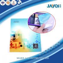 Paño de limpieza impreso personalizado de la microfibra para la pantalla del LCD