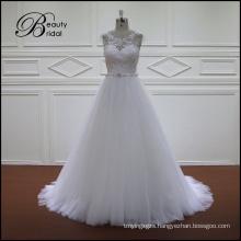 Modest White Beautiful Wedding Dress