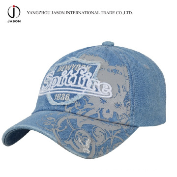 Denim Baseball Cajp Jeans Sport Cap gewaschen Baseball Cap Golf Cap Mode Cap