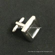 Gemelos de plata en blanco de diseño simple personalizado para souvenir
