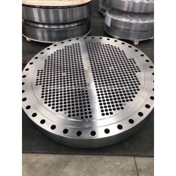 Placas de soporte de deflectores de lámina de tubo de acero inoxidable de aleación