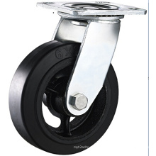 8 Inch Heavy Duty Swivel Casters with Rubber Wheel