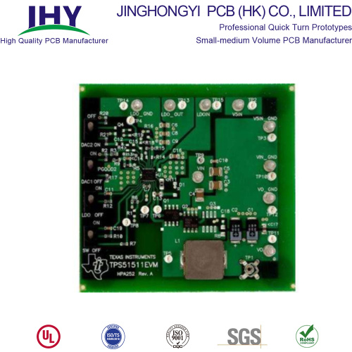 8-laags PCB Loodvrije HASL-printplaat 94v0 Multilayer PCB