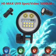 2015 HI-MAX Unterwasser Sport Kamera Video Licht