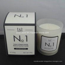 No. 1 Natural Cedar & Sweet Orange Scented Candle