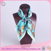 Haute qualité 100% soie foulard en soie twill avec différentes tailles