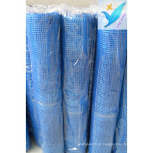 10mm * 10mm 90G / M2 Concrete Glass Fiber Net Mesh