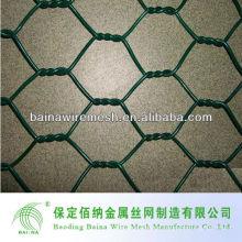 24-Zoll-25-Fuß 1-Zoll-Mesh-PVC-beschichtetes grünes Geflügel-Netz