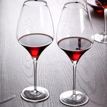 Vidrio de vino rojo hecho a mano especial de cristal para modificado para requisitos particulares