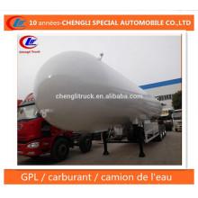 30mt LPG Tanker Trailer 56cbm LPG Semi Trailer for Sale
