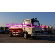 Camión de succión de aguas residuales SINOTRUK HOWO 4x2 5m3