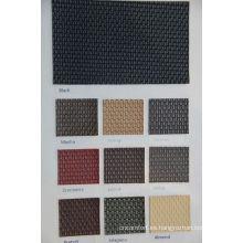 cuero de PVC resistente a las manchas para tapicería de sofá yacht