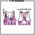 Latest Design Women Bra Slim Fit Gym Wear with Logo
