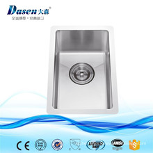 New Mobile Stainless Steel Kitchen Sink For Bar Counter With Plastic Strainer
