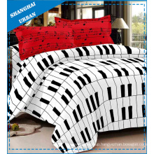 3 Piece Cotton Mix Bedding Duvet Cover Set