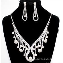 Bijoux de mariage défini de nouveaux bijoux de fantaisie