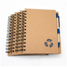 2020 cheap wholesale kraft school exercise books for student notebook
