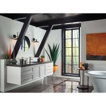 White Vintage Wooden Bathroom Vanities