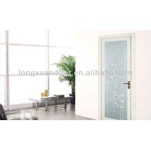 Aluminium-Pendeltür mit Glas und modernem Design