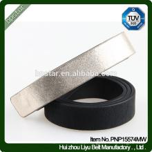 PU Thin Women Belt Faux Leather Black for Lady Female Dress Jeans Ceinture