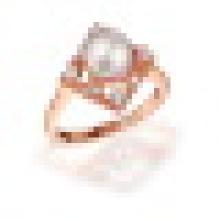 Natürliche perfekt runde Süßwasserperlen Retro Quadrat Ringe S925 Sterling Silber für Frauen Engagement Edlen Schmuck