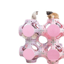 collapsible cat tunnel  play scratching castle  cat toys with tunnel  tube cat  house  climbing frame