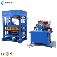 QTF4-28 New type Hollow brick block making machine for sale