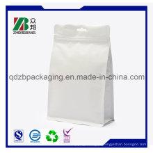 Embalagem de alimentos de plástico de alumínio com zíper para embalagens de alimentos para cães de estimação