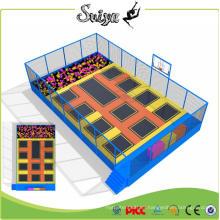 Xiaofeixia Rectangle Trampoline Children Mini Indoor Trampoline Park with Foam Pit