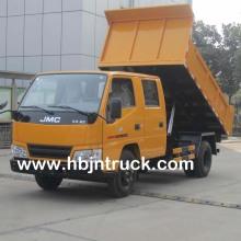 Camión volquete pequeño de 3 toneladas JMC a la venta