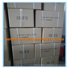 1.6mm Epaisseur Séparateur de batterie en fibre de verre 152 * 242 * 1.6mm