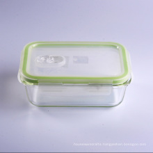 Leak Proof Container Food Meal Box Glass Bowl with Lid