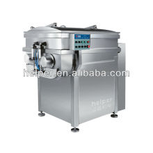 Vacuum industrial meat mixer