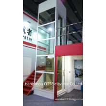 Small lift elevator /lift for 1 person/ small home elevator 250kg